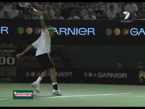 Roger Federer – Slow Motion Topspin Backhand