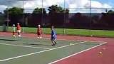 Renzo's tennis lessons – Fireball Drill