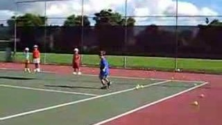 Renzo's tennis lessons – Fireball Drill