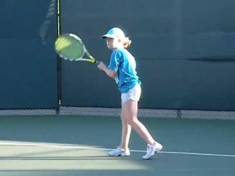 Jessica's Tennis Lesson