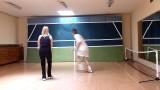 Tennis lesson with Jellena, intermediate level – using wall