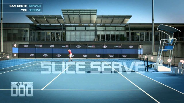 "Return Sam Groths ""Slice Serve"" – Kia Game On Tennis App – Kia Australia"