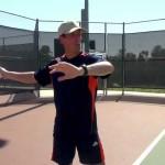 Tennis Training Myth – Tennis Forehand Backswing – Right Handed Training Video
