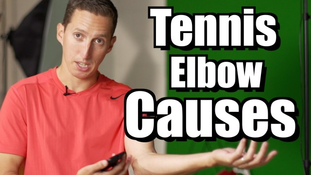 Tennis Elbow Causes – Ask Ian #15 – Essential Tennis Lesson and Instruction