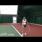 Tennis Drill – The Slice Serve – Left Hand