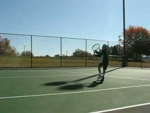 Simon Tennis – warming up age 9