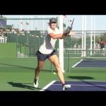 Maria Sharapova in Super Slow Motion – Forehand and Backhand – BNP Paribas 2013