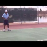 How to hit a great slice tennis backhand.