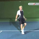 tennis slice backhand