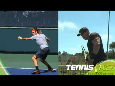 Tennis- Forehand Topspin with More Core & Swing Power
