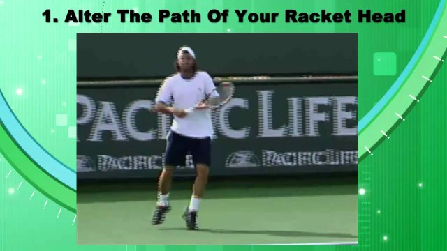 The Tennis Forehand – How To Hit It Heavy