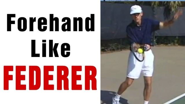 Tennis Forehand – Hit Your Forehand Like Roger Federer with TomAveryTennis.com