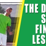 TENNIS DROP SHOT LESSON | The Tennis Drop Shot Finish