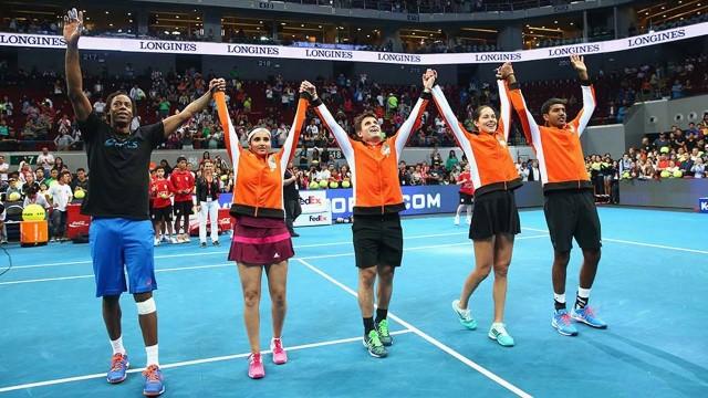 Best moments. International Premier Tennis League (IPTL) – Manila, Philippines 2014