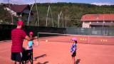 Tennis Lesson for Intermediate Level – no. 18 – teaching kids tennis (the serve)