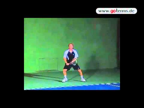 Tennis Forehand – Return Slice – Highspeed