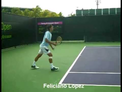 Federer Nadal Roddick Murray Djokovic slow motion