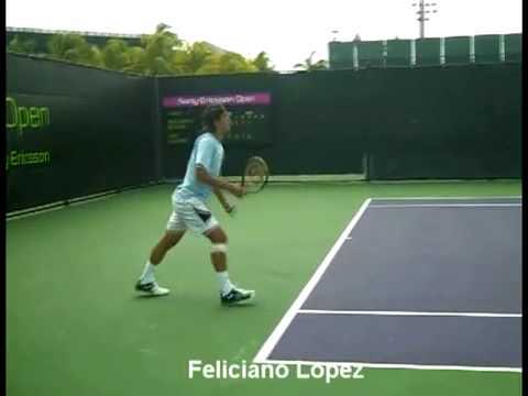 Federer Nadal Roddick Murray Djokovic slow motion