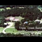 TRIPLE CREEK RANCH, 2,968 ACRES NEAR GRANBURY, TEXAS