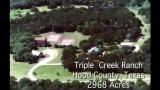 TRIPLE CREEK RANCH, 2,968 ACRES NEAR GRANBURY, TEXAS