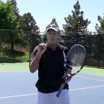 Tennis Volley Lesson – High Forehand – The Target