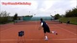 Tennis Serve Technique |  Slow Motion
