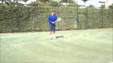 Tennis Forehand Tip: Slice and Drop Shot