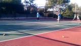 Miles' Tennis Class 011211