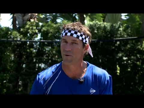 Advanced Tennis Tip – Defensive Slice Backhand