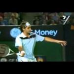 Roger Federer Slow Motion   Serve, Forehand, Backhand