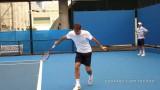 Roger Federer – Slow Motion Slice Backhand in High Definition, Australian Open 2011