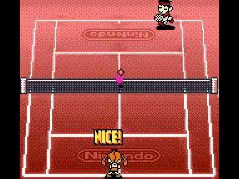Mario Tennis – Senior Class Rank 4 Match (Singles)