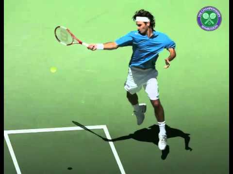 Federer Super Slow Mo