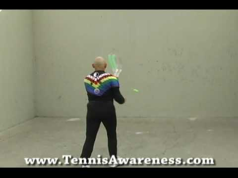 Part 6: Amazing Tennis Playing Left And Right Handed Forehands and 2 Handed Back Hand Grips