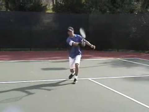 Tennis Lesson – How to slice or chip a forehand groundstroke – Tennis Equipment