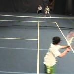 Best Tennis Point Ever – Under 8 UK Kent Mini Red Tennis Championship 2010