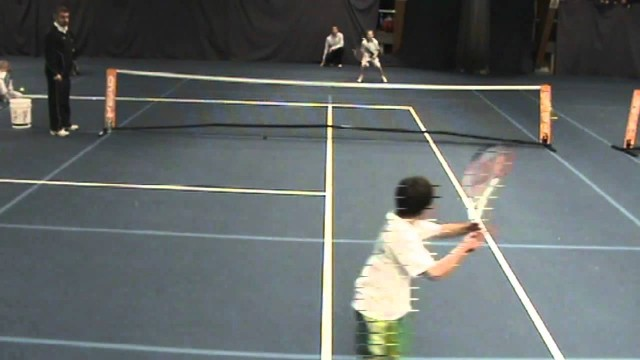 Best Tennis Point Ever – Under 8 UK Kent Mini Red Tennis Championship 2010