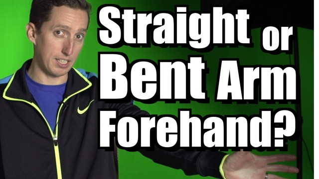 Straight or Bent Arm on Forehand? – Ask Ian #34