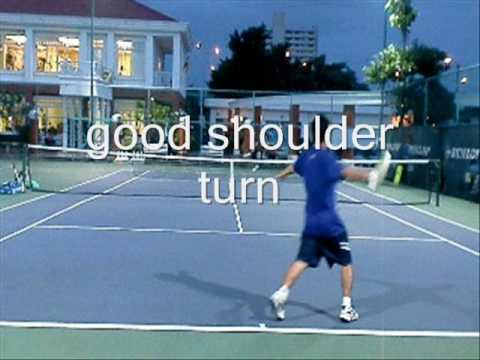 Tennis Lesson:  Jumping into your Forehand